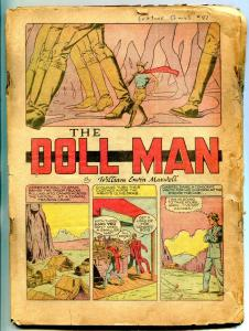 Feature #41 1941-DOLL MAN- Zero Ghost Detective- Ace of Space coverless