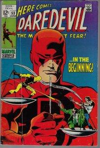 Daredevil #53 (Marvel, 1969) F-