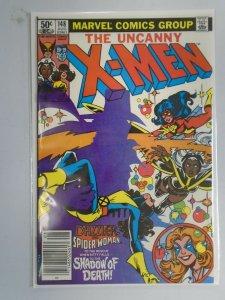 Uncanny X-Men #148 Newsstand edition 7.5 VF- (1981 1st Series)