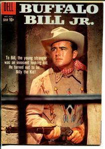Buffalo Bill JR #12 1959-Dell-Dick West TV series photo cover-VF