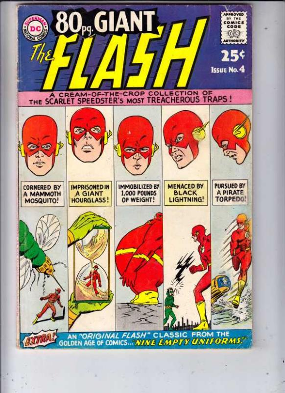 Eighty Page Giant #4 (Oct-64) FN Mid-Grade The Flash
