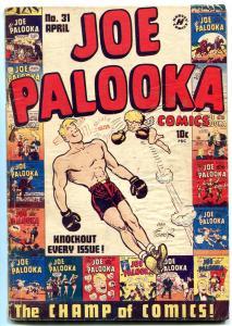 JOE PALOOKA #31 1949-HARVEY COMICS-DIZZY DEAN-POWELL FR