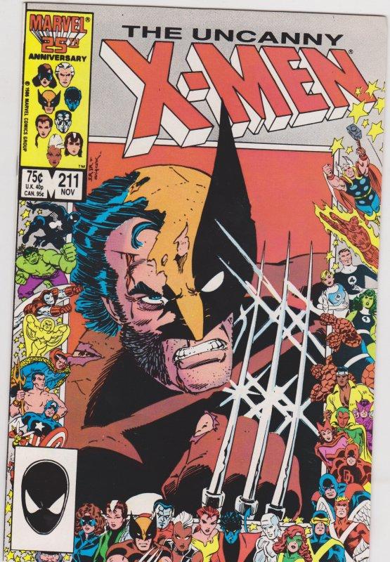 The Uncanny X-Men #211 (1986)