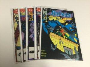 Batman 465 467 468 469 470 Nm Near Mint DC Comics