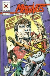 Magnus Robot Fighter (1991 series) #39, NM- (Stock photo)