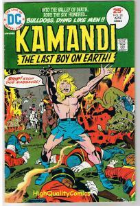 KAMANDI #28, FN+, Jack Kirby, Last Boy on Earth, 1972, more JK in store