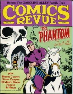 Comics Revue #34 1989-Phantom-Flash Gordon-Modesty Blaise-Popeye-VF
