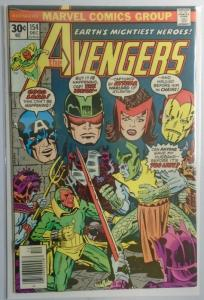 Avengers (1st Series) #154, 6.0/FN (1976)