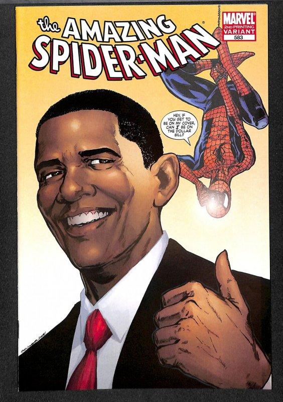 Amazing Spider-Man #583  Marvel Comics Spiderman