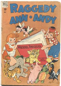 RAGGEDY ANN + ANDY #24-1948-LITTLE RIDING HOOD-WALT KELLY ART---DELL