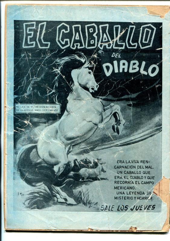 La Llanera Vengadora #130 1960's-horror stories-Spanish-G