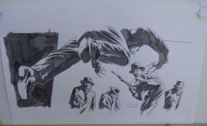 RICHARD ISANOVE original art, SAVAGE WOLVERINE #14, Signed, Dark Tower artist