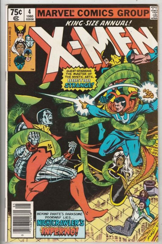 X-Men King-Size #4 (Jan-80) VF+ High-Grade X-Men