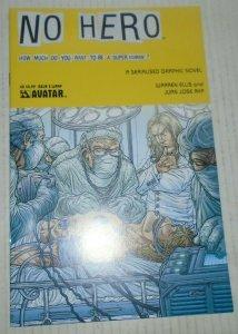 No Hero # 3 Wrap Warren Ellis Avatar Press