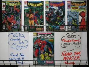 SPIDERMAN 8-12 PERCEPTIONS complete WOLVERINE story!