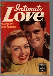 INTIMATE LOVE #24-1953-ALEX TOTH-VINCE COLLETTA-GOLDEN AGE-VG plus VG+