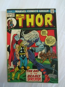THE MIGHTY THOR #208 1ST APPEARANCE DEMON DRUID