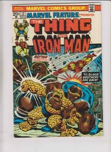 Marvel Feature #12 VF- iron man & the thing - early thanos by jim starlin 1973