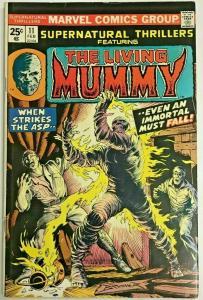 SUPERNATURAL THRILLERS#11 FN/VF 1975 MARVEL BRONZE AGE COMICS