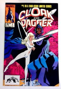 Cloak and Dagger #1 Marvel 1983 VF/NM Bronze Age Comic Book 1st Print
