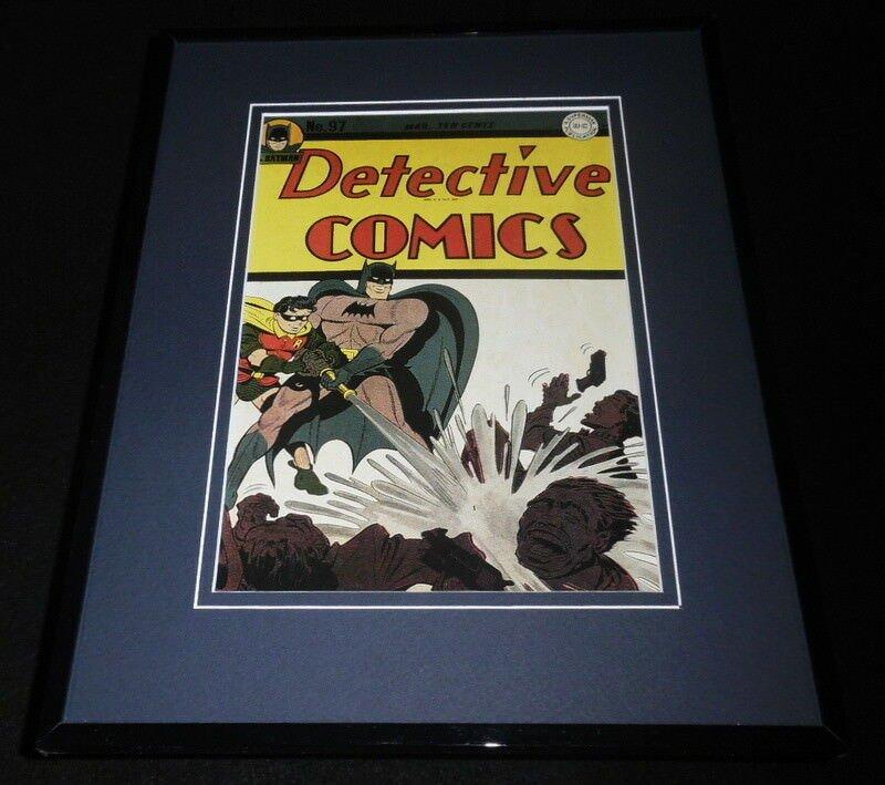 Detective Comics #97 Framed 11x14 Repro Cover Display Batman Robin