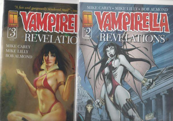 Vampirella Revelations set #0to3 (Oct-05) NM Super-High-Grade Vampirella
