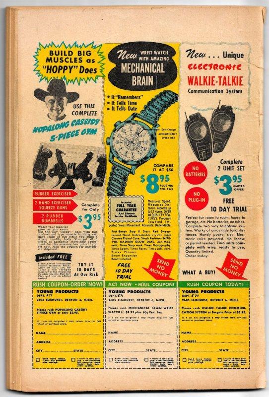SANTA'S CHRISTMAS COMICS 1952  One-Shot * Standard & ACG Funny Animals * 100 pgs