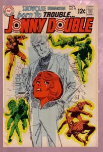 SHOWCASE #78 1968- BORN TO TROUBLE.. JONNY DOUBLE-CRIME FN