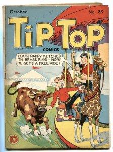 Tip Top Comics #89 1943- Li'l Abner- low grade incomplete