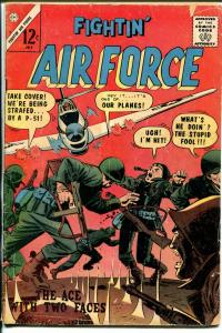 Fightin' Air Force #49 1965-Charlton-WWII-P-51 Mustang cover-VG-