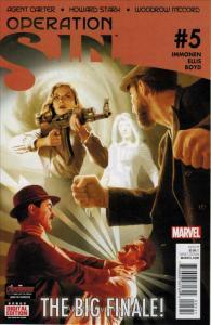 Operation S.I.N. #5 VF/NM; Marvel   save on shipping - details inside