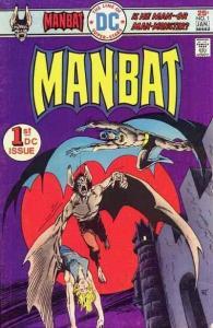 Man-Bat (1975 series) #1, VG+ (Stock photo)
