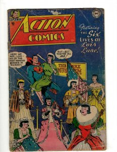 Action Comics # 198 VG DC Comic Book Superman Batman Green Lantern Flash KD1