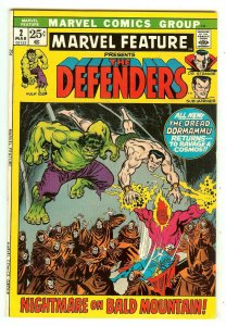 Marvel Feature 2   2nd Defenders   Rutland Vermont Halloween crossover