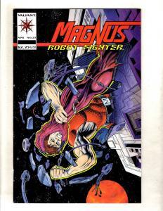 Magnus Robot Fighter # 23 NM Valiant Comic Book Rai Bloodshot Unity MR6