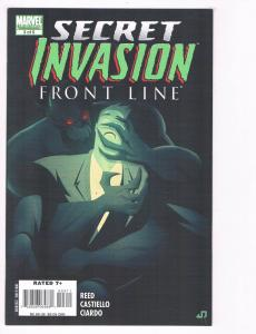 Secret Invasion Front Line # 3 NM Marvel Comic Book Limited Series Avengers S80