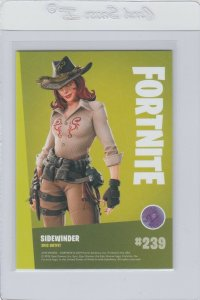 Fortnite Sidewinder 239 Epic Outfit Panini 2019 trading card series 1