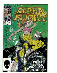 13 Alpha Flight Marvel Comics # 14 15 16 11 12 17 18 19 20 21 22 23 24 J430