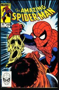 AMAZING SPIDER-MAN #245-1983-MARVEL VF