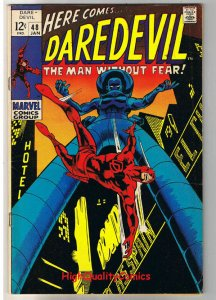 DAREDEVIL #48, FN+, Gene Colan, Stilt-Man, Stan Lee, 1964, more DD in store