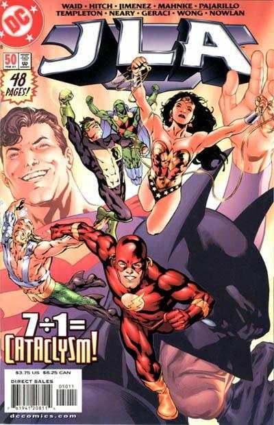 JLA #50, NM + (Stock photo)