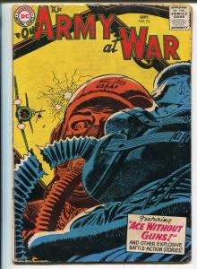 Our Army at War #74 1958-DC-air war cover-WWII stories-VG MINUS