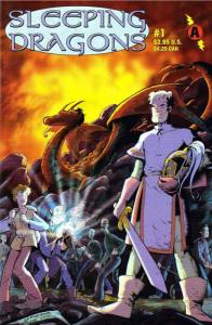 Sleeping Dragons #1 VF/NM; Amaze Ink | save on shipping - details inside