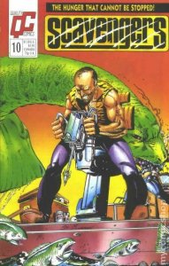 SCAVENGERS #10, VF+, Dinosaurs, Quality Comics, 1988 more Indies in store