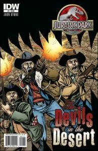 Jurassic Park: The Devils In the Desert #1 VF; IDW | save on shipping - details