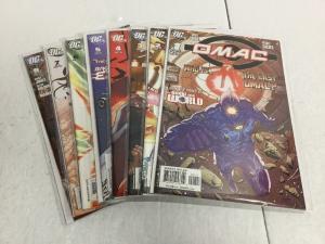 Omac 1-8 Lot Set Run Nm Near Mint DC Comics IK