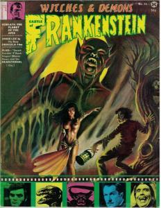 CASTLE OF FRANKENSTEIN 15 VG CHRIS LEE,Karloff copy D