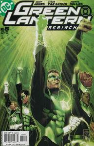 Green Lantern: Rebirth #6 VF/NM; DC | save on shipping - details inside