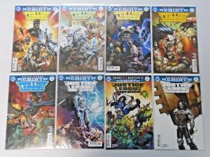 DC Universe Rebirth lot #1 to #12 - JLA 8.0/VF (2017)