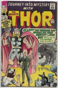 Journey Into Mystery   vol. 1   #113 GD Thor